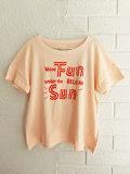 ベルギー子供服 bellerose kids ベルローズキッズ ガールズ プリントTシャツ