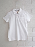 bellerose kids ボーイズ半袖ポロシャツ
