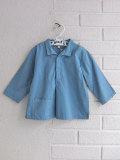 英国ブランド ロンドンブランド CARAMEL  キャラメル Atlin Baby Shirt, River Blue ベビーシャツ
