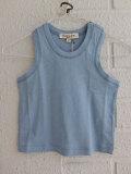 英国ブランド ロンドンブランド CARAMEL  キャラメル Chini Baby Vest, Cornflower タンクトップ
