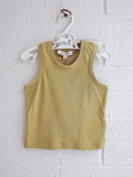 英国ブランド ロンドンブランド CARAMEL  キャラメル Chini Baby Vest, Lemongrass タンクトップ