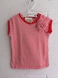 イタリア子供服 DOUUOD ボーダーTシャツ