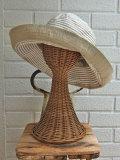 イタリア老舗帽子ブランド GREVI グレヴィ レディース帽子 クロシェ グログランハット