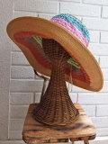 イタリア老舗帽子ブランド GREVI グレヴィ レディース帽子 クロシェ グログランブレードハット