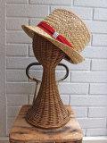 イタリア老舗帽子ブランド GREVI グレヴィ レディース帽子 ストローハット