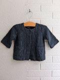 イタリア子供服 OLIVE オリーブ コットン五分袖ジャケット