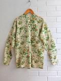 パリジェンヌに人気のフレンチカジュアルブランド soeur  スール フラワープリントチュニジアシャツ