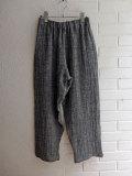 LE VESTIAIRE DE JEANNE LE VESTIAIRE DE CLE VDJ Classic trousers リネンロングパンツ