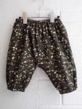 CARAMEL キャラメル Nilus Baby Trouser, Liberty Mina Dark リバティパンツ