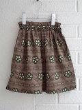 CARAMEL キャラメル Aetna Skirt, Polka Flower Print Putty フラワープリントスカート