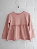 イタリア子供服 OLIVE コットンジャージーフレアTシャツ