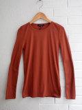 パリジェンヌに人気のフレンチカジュアルブランド soeur コットンリブTシャツ