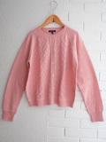 パリブランド soeur レディース 透かし編みカーディガン