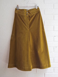 パリブランド soeur スール  レディース  ミディアムロングコーデュロイスカート