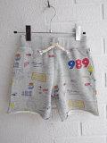 ベルギー子供服 bellerose kids ベルローズキッズ ボーイズ プリントスウェットバミューダ
