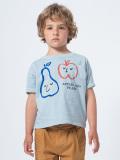 スペイン子供服 BOBO CHOSES ボボショーズ Apples And Pears Short Sleeve T-Shirt  オーガニックコットンTシャツ