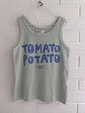 スペイン子供服 BOBO CHOSES ボボショーズ Tomato Potato Linen Tank Top リネン混タンクトップ