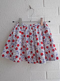 フランス子供服 bonpoint ボンポワン チェリープリントスカート