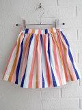 フランス子供服 bonpoint ボンポワン マルチストライプスカート