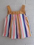 フランス子供服 bonpoint ボンポワン マルチストライプブラウス