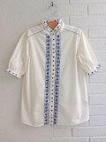 フランス子供服 bonpoint ボンポワン 刺繍ブラウス