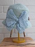 イタリア老舗帽子ブランド GREVI グレヴィ リボングログランクロッシェ