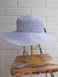 イタリア老舗帽子ブランド GREVI グレヴィ つば広リボングログランクロッシェ・紐付き