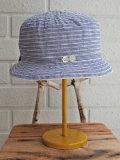 イタリア老舗帽子ブランド GREVI グレヴィ ボーダーグログランハット