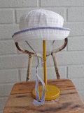 イタリア老舗帽子ブランド GREVI グレヴィ ベビーグログランクロッシェ・紐付き