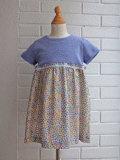 イタリア子供服 OLIVE オリーブ切り替え花柄ドレス