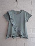 イタリア子供服 OLIVE オリーブラッフルフリルTシャツ