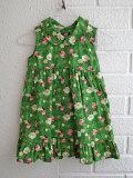 イタリア子供服 OLIVE ベビー ローズプリントワンピース