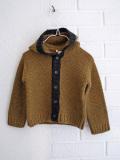 イタリア子供服 BABE&TESS ニットフードジャケット