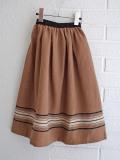 イタリア子供服 BABE&TESS フレアロングスカート
