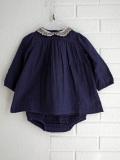 CARAMEL キャラメル イギリス子供服 ベビーセットアップ ブラウス ブルマ