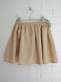 CARAMEL キャラメル ドットプリントスカート