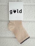ベルギー子供服 Heart of Gold liz to dirk バイカラーソックス