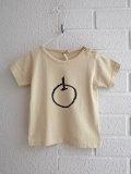ベルギー子供服 Heart of Gold liz to dirk プリントTシャツ りんご