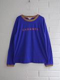 CARAMEL キャラメル イギリス子供服 CARAMELロゴプリント長袖Tシャツ