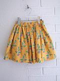 BONTON  ボントン ガールズ フラワープリントスカート