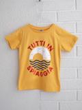 フランス子供服 BONTON プリントTシャツ