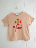 CARAMEL Otter T-Shirt キャラメル 英国子供服 フラワープリントTシャツ