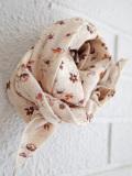CARAMEL Treasure Scarf, Ditsy Floral Print フラワープリントスカーフ
