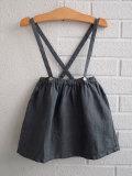 イタリア子供服 BABE&TESS ベイブアンドテス リネン吊りスカート