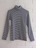 ベルギー子供服 bellerose kids ベルローズキッズ ボーダーリブジャージータートルTシャツ