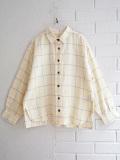 bellerose kids ベルローズキッズ ガールズ ウィンドウチェックシャツ