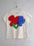 bellerose kids ベルローズキッズ ガールズ フラワープリントTシャツ