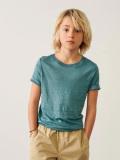 bellerose kids ボーイズ リネンジャージーTシャツ