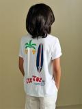 bellerose kids ボーイズ バックプリントTシャツ