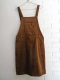 ベルギー レディース bellerose woman ベルローズウーマン コーデュロイサロペットスカート